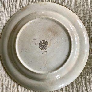 Vintage Dining - Vtg French Saxon Dinner Plate